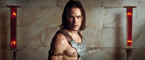 Taylor Kitsch as John Carter in Andrew Stanton's live-action adaptation of John Carter of Mars. Watch the teaser trailer!