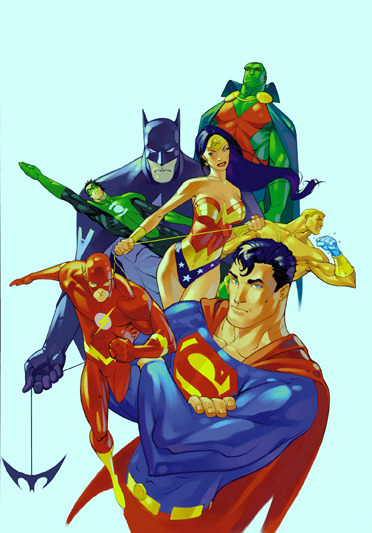 clarissasucks:  JLA by Kerong