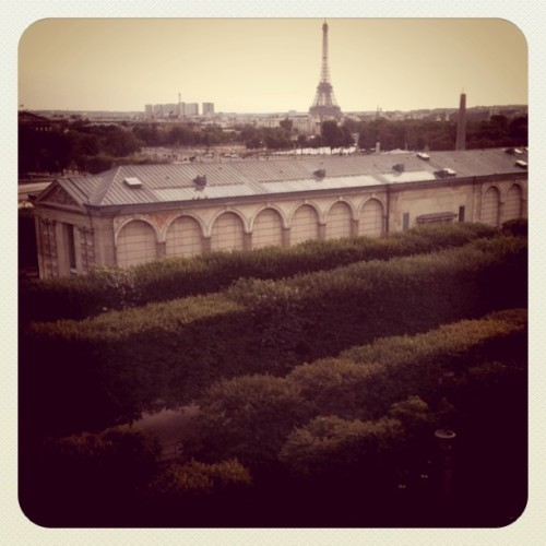 La plus belle vue de Paris (Taken with Instagram at Place de la Concorde)