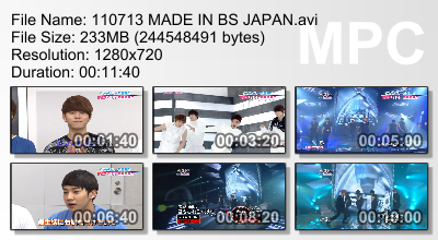 110713 Made in BS Japan  .001 .002 .003 CR: bestiz + Yui@ beastdownsloads.tumblr.com