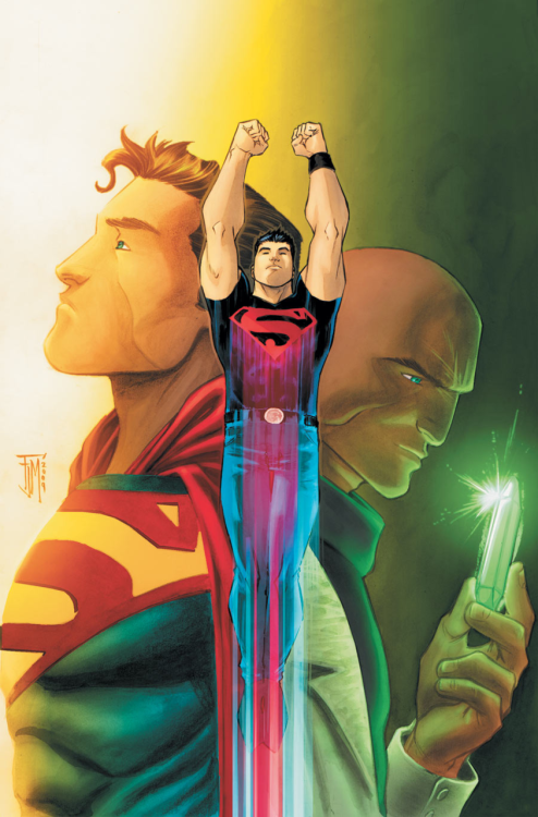 jedibusiness:   Superboy // Francis Manapul  I have two daddies.