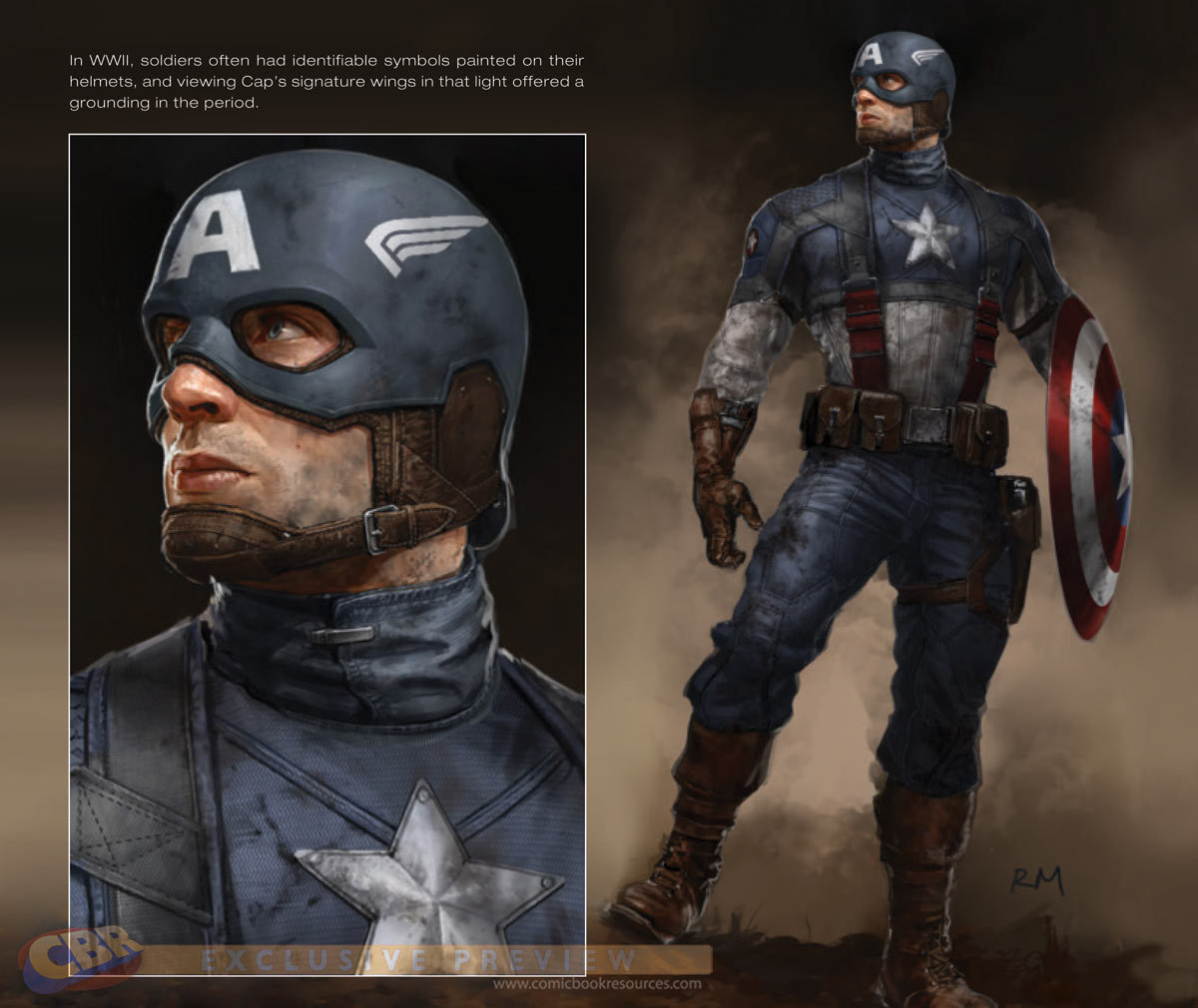 "THE ""ART OF CAPTAIN AMERICA"" WITH RYAN MEINERDING by Comic Book Resources"