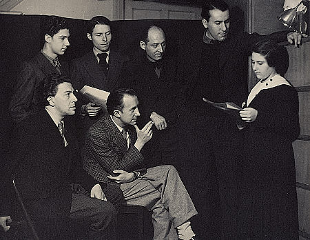 Gisèle Prassinos Reading her Poems to the Surrealists Man Ray 1934