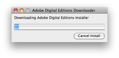 Oh Adobe. Downlaoder.