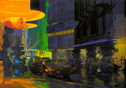 pjmix:  1980 … Syd Mead- 'Bladerunner' concepts (by x-ray delta one)