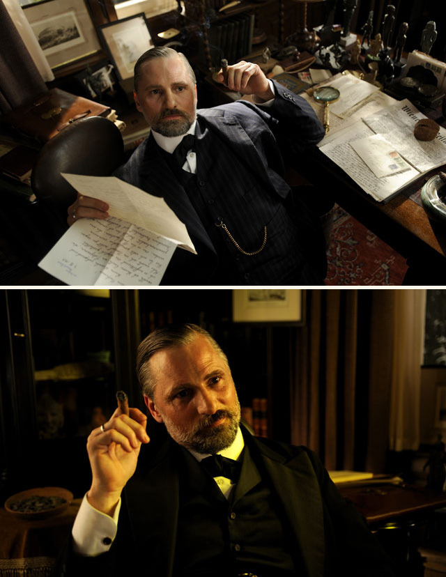 Viggo Mortensen in David Cronenberg's A Dangerous Method