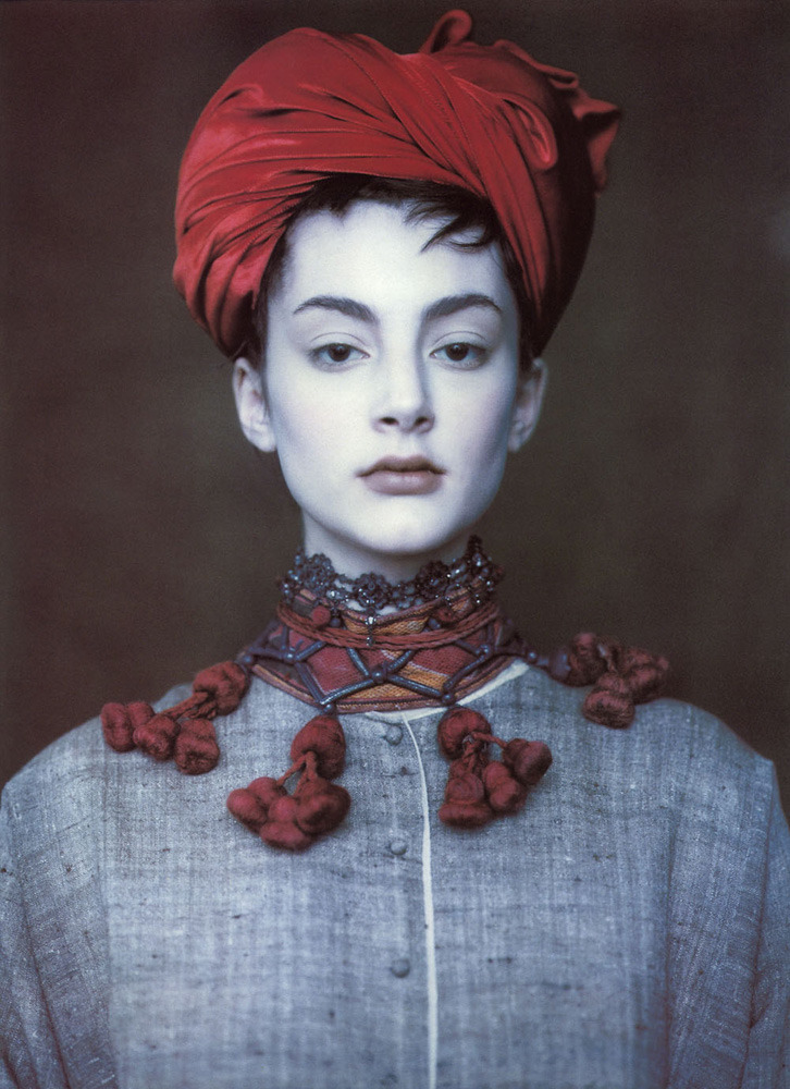 Honor FraserVogue UK, circa 1990'sPhotographer: Paolo Roversi