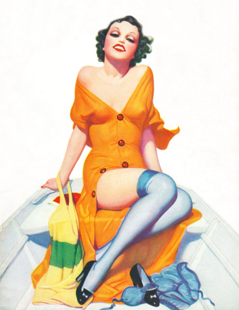 vintagegal:  art by Enoch Bolles 1930's