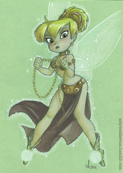 """Chain a PIXIE, willya?""….#SDCC commission 5x7"""