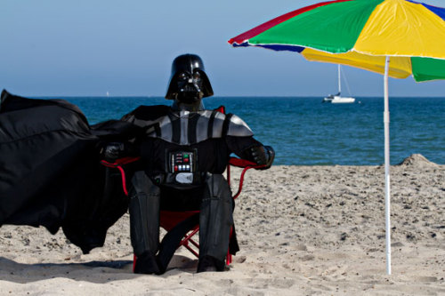 Vader vacay (via DARK HOLIDAY : NICK PRESNIAKOV)