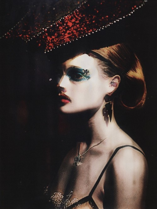 Guinevere Van Seenus by Paolo Roversi Vogue UK