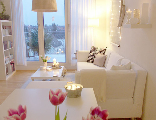 white can create the most striking rooms.