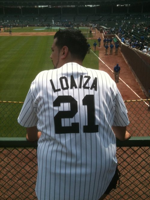 Esteban Loaiza, Chicago White Sox:  Loaiza has hit 120 MPH on the radar  gun. Sure, it was in a Ferrari. On a public road. When he was allegedly  drunk. But you can't teach velocity!  (Found by Nick at Wrigley Field.)
