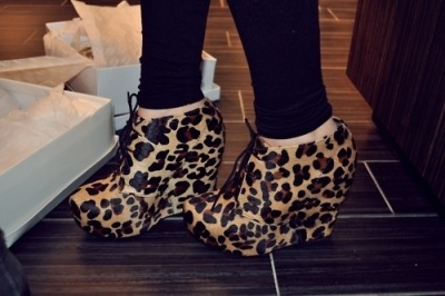 "—- Steve Madden ""Annie"" Wedge Booties"
