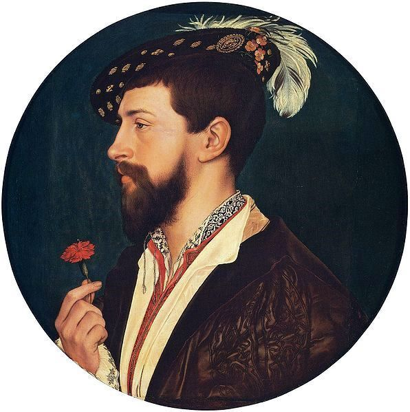 Simon George, by Hans Holbein the Younger c 1533-1-