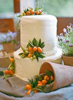 I have a new favorite Event Stylist, Mindy Rice. This kumquat cake is gorgeous. you can check her work out here http://www.mindyrice.com/index.php -Kristina Bella Vita