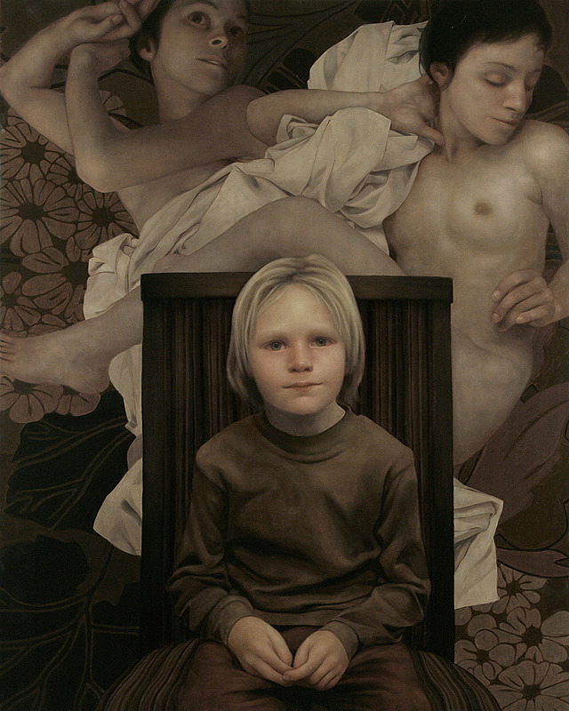 Avery's Calling, oil on panel, 48 x 72 inches, 2008
