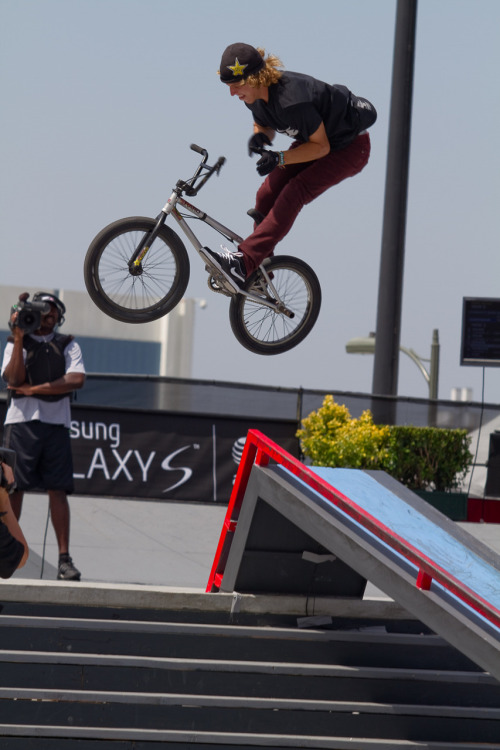 xgames:  Dennis Enarson. BMX Street. 12 days out. Get ready!