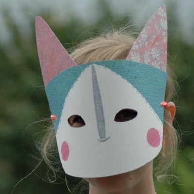 Creature Mask- little kitty - Abigail Brown