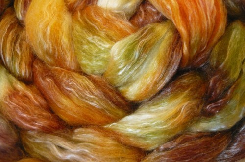 "ohhellyeahspinning:  Via Pintrest  Lovely roving. I keep looking at it, but then I tell myself, ""Manda, you're being like a dog chasing a car, even if you get it, you wouldn't know what to do with it."" But then I usually reply ""But that's what youtube is for!"""