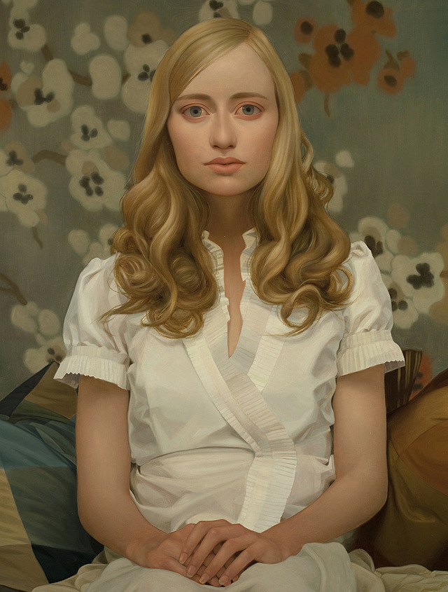 My Name Is Tabitha, oil on panel, 36 x 48 inches, 2010