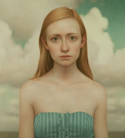 lucong:  Tabitha #9, oil on panel, 36 x 40 inches, 2011Vered Gallery, East Hampton, NY