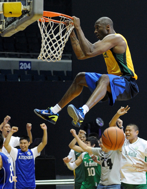 *KB24 in the Philippines hoopin' w/Ateneo, De la Salle and F.E.U vs the Philippine National team pt.2