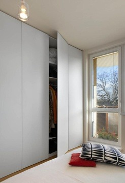 I found this image on a property for rent listing -  Love that wardrobe.