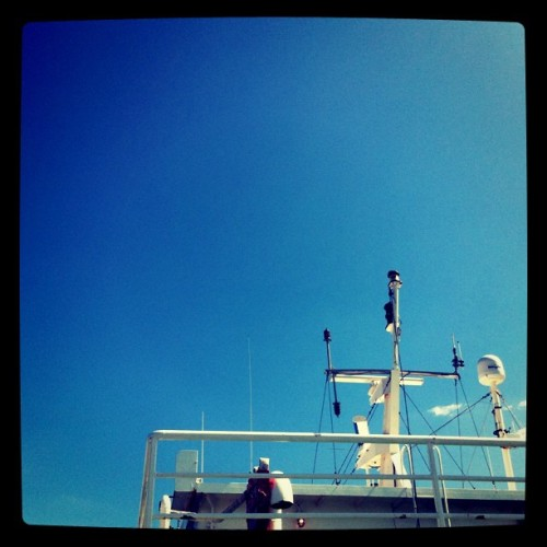 Capitan's quarters. #portjeff #photoessay #ferry (Taken with instagram)