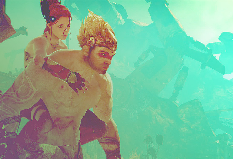 kihanna:  Just finished this game, Enslaved: Odyssey to the West. wow.