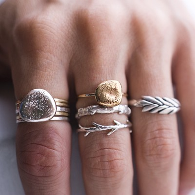little rings, like I love'em #musthave