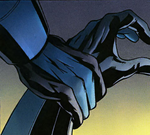 discowing:  Dick's fingerstripes/Jason's fingerstripes, I ship it. [Nightwing 119]