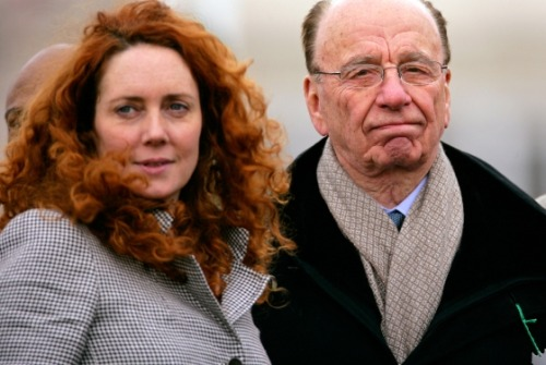 "(via Rebekah Brooks Steps Down at News Corp.; Murdoch Flailing — Daily Intel) ""…The Guardian speculates that Murdoch may finally have accepted Brooks's resignation after Saudi prince Alwaleed bin Talal al-Saud, News Corp.'s second-largest shareholder, called for her resignation in an interview Thursday night with Newsnight.  ""The indications are that her involvement in this matter is explicit. For sure she has to go, you bet she has to go. Ethics to me is very important. I will not tolerate to deal with a company that has a lady or a man that has any sliver of doubts on her or his integrity.""  If true, that's just one of several indications that Murdoch is in reactive mode, no longer in full control of his message…"""