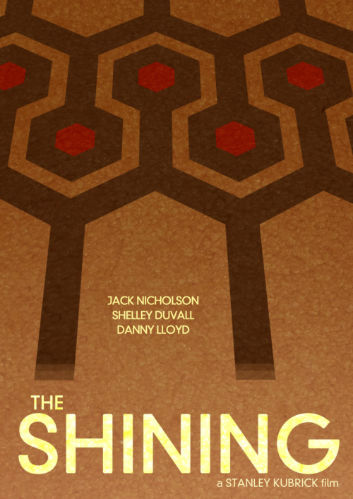 minimalmovieposters:  The Shining by Daniel Keane