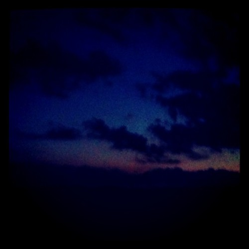 Night sky! #clouds #night #sky (Taken with instagram)
