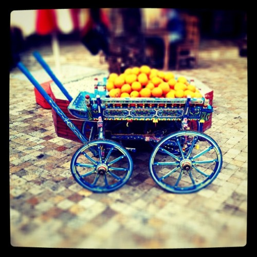 Cart a l'orange (Taken with instagram)