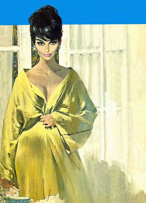 kapowbamfwoosh:  Modesty Blaise by Robert McGinnis I'm posting this picture of Modesty Blaise due to an e-mail conversation I had with the owner of the Huntress Italian Mafia Princess tumblr regarding an interview with Paul Levitz (skip the two posts below to find a link to the interview), who will be the writer for the new Huntress mini coming in the fall.  In the interview Paul Levitz remarked that he was getting some of his inspiration from the character Modesty Blaise. I grew up loving Modesty Blaise, one of the great strips and prose series about adventurous, superheroic-type women. That was a great influence on a number of our work in the field. And this was a chance to do something that was in some ways more like a Modesty Blaise kind of caper story than a giant supervillain story. and a little later on… The Huntress has been wonderful to do. It's got a whole different style and fashion. I went back and re-read some of my Modesty Blaise, and it was good fun. So I'm really enjoying the whole process. Now, when I think of Modesty Blaise I think of one of those 60's super spies, like James Bond and Emma Peel, not a street-level fighter like Helena.  However, the more I thought about it and tried to think up situations where the Huntress had stories like Modesty Blaise, the more I came to realize that Levitz's connection between the two characters was an easy one to make. You see, Helena, really isn't a street-level fighter.  Although she does take down thugs or thieves in dark alleys her reason for becoming the Huntress was to take down the mafia, organized crime, not some petty thief.  If you read Huntress: Year One or the brilliant Cry for Blood you see her take on the mob, crooked politicians, and other people in high places.  In the pages of Birds of Prey the connection to these sorts of stories lessens but can still be seen when she runs a sting to dig up information on the crime families of Gotham and, an even better example, when she goes to Turkey to take down Yasemine, a gun runner. With Greg Rucka the connection that Mr. Levitz sees to Modesty Blaise is even clearer to see.  Rucka wanted to use her in his Checkmate series because of her connections to the super secret organization.  He never got a chance but he's written her in the aforementioned Cry for Blood and he also wrote her in the Pipeline story from Detective Comics where you see Helena helping The Question (Renee Montoya) with her fast cars and traveling all over the world in Lear jets to bring down a huge human trafficking ring.   You have her breaking into super secret facilities and dealing with world-class assassins.  All of this is very Modesty Blaise-y.  There is nothing street-level about it. All in all, I can say that I'm very happy with the developments with Helena in the new DCU.  I think these will be different stories that will take advantage of Helena's history and resources. Thanks to huntresstheitalianmafiaprincess for the great discussions and the great site.  You're most welcome, and thank you for the great e-mail discussion. It's been fascinating - there's still so many more aspects to delve into. Like you, I'm eagerly looking forward to Paul Levitz's and Marcus To's The Huntress, and Helena's role in the DCUn.