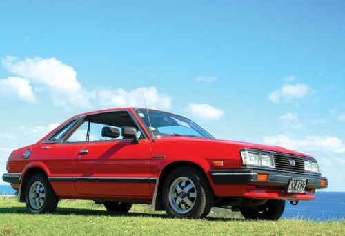 1983 Subaru 1800 GLF Automatic Coupe.
