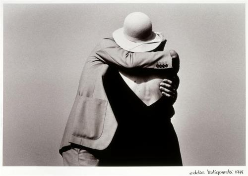 Le Baiser, Château-Landon, 1978. Photo by Eddie Kuligowski