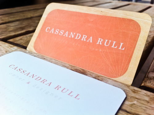 Business Cards for Cassandra Rull finally finished :)
