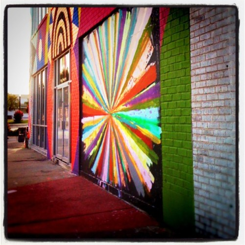 Wayne Coyne's Womb art space on 9th Street, downtown Oklahoma City (Taken by 50mmcaroline with instagram)