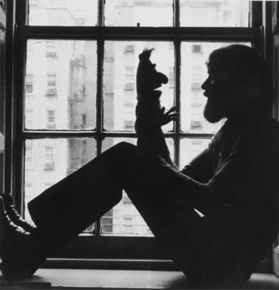 Jim Henson and Bert.