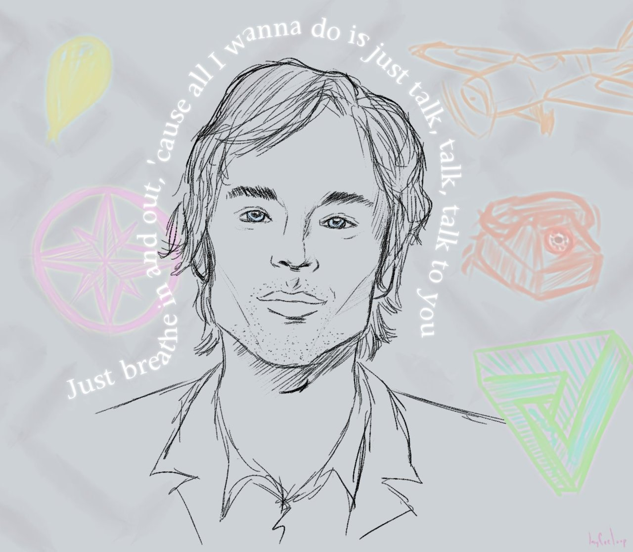 I'm so f* in love with Darren Hayes and Talk Talk Talk.