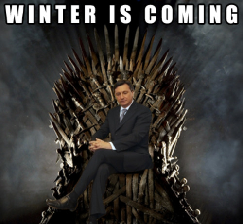 Winter is coming …