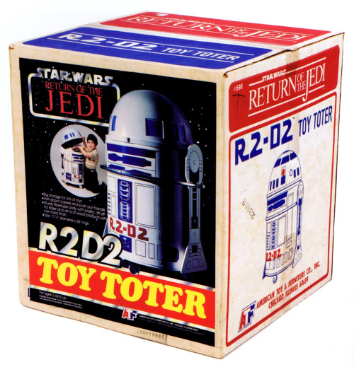 R2-D2 Toy Toter circa 1983 scanned from Star Wars: 1000 Collectibles :: Abrams Books :: 2008