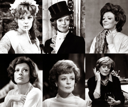 This is a Maggie Smith appreciation post.  She's so graceful!