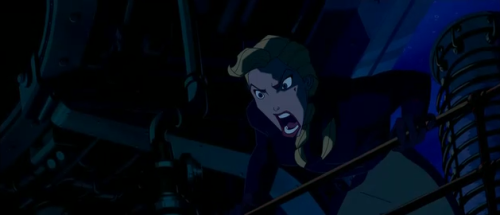 Helga from Disney's Atlantis: The Lost Empire