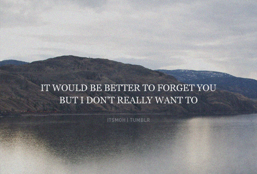 It would be better…