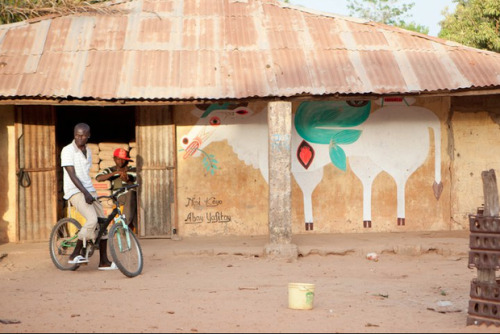 fyeahafrica:  Wide Open Walls The Gambia