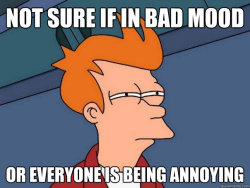 ironictriangle:  theamericankid:  Futurama Fry  My life all day every day.
